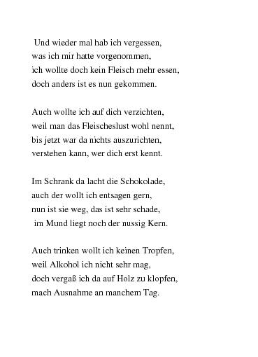Gedichte Fastenzeit Von Uteschuster