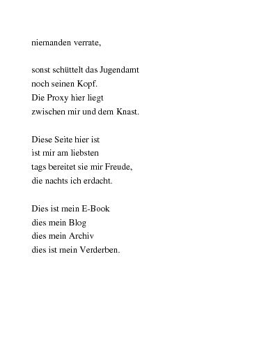 Gedichte Virtuelle Inventur Von Arrix