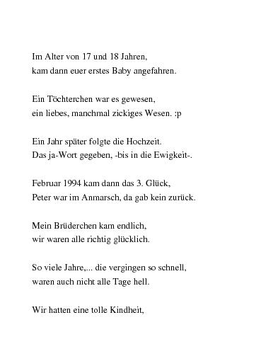 Gedichte Mama Papa Danke Von Eisengel