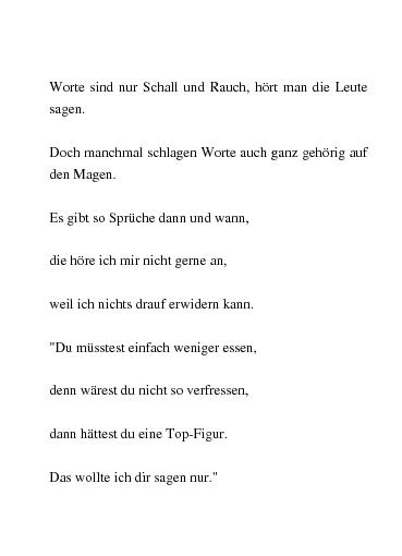 Gedichte Worte Sind Nur Schall Und Rauch Von Chrissy55