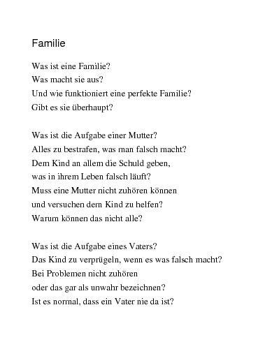Gedichte Familie Von Frauchen86