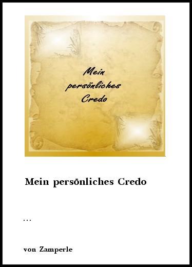 Mein Credo